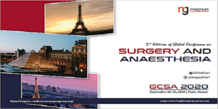2nd Edition of Global Conference on Surgery and Anesthesia